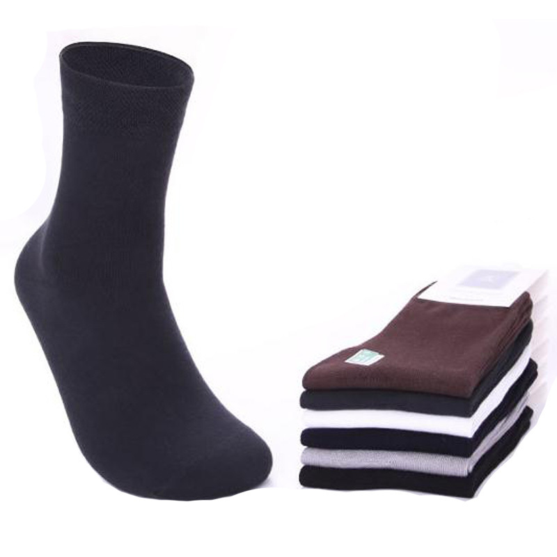 2015 Spring Business Men Socks Antibacterial Deodorant Sports Bamboo Socks Men Fashion Socks Autumn High-Quality 5pairs/lot(China (Mainland))