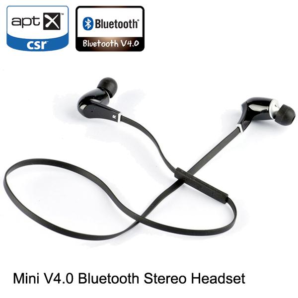 wireless v4 0 stereo bluetooth headset earphone headphone. Black Bedroom Furniture Sets. Home Design Ideas
