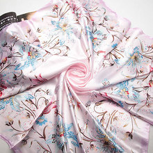 90cm*90cm 2016 Spring New Fashion Brand High Quality Big Size 90x90cm Women Imitated Silk Square Scarf 20 Designs Lowest Price(China (Mainland))