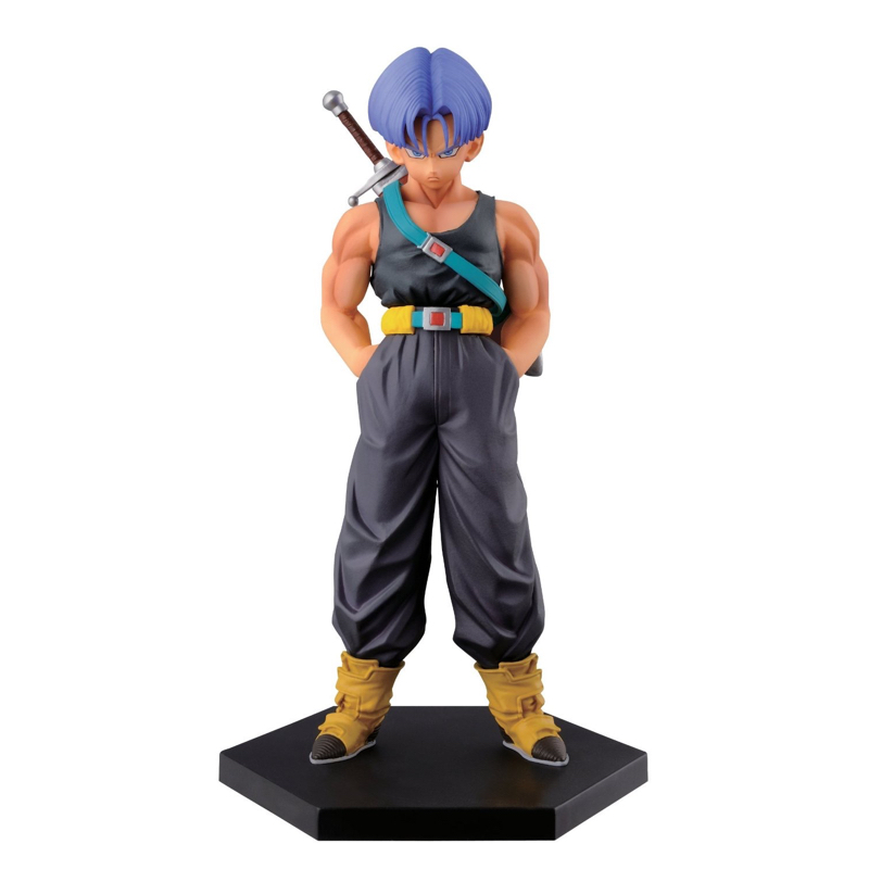 Dragon Ball Z Future Trunks Action Figure Sculptures Figure Collectible Mascot Kid Toys Japan Cartoon Banpresto