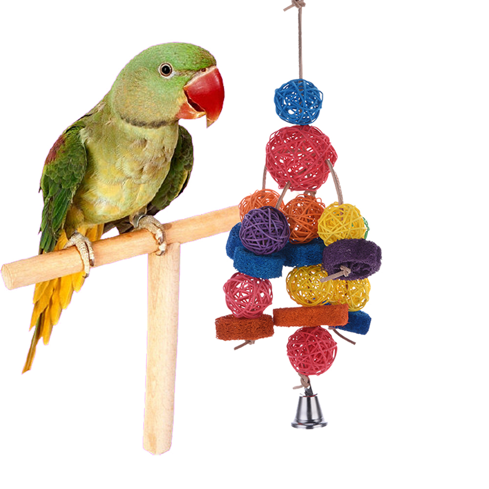 Parakeet Chew Toys : Rattan products promotion shop for promotional