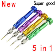 New 5 in 1 Can change head Repair Open Tools Kit Screwdrivers For iPhone Samsung Galaxy Jecksion