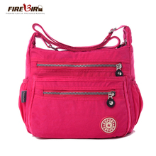 FIREBIRD!2015 new Korean fashion women shoulder bag Waterproof nylon bag Shoulder Messenger Multilayer bags women bag H162