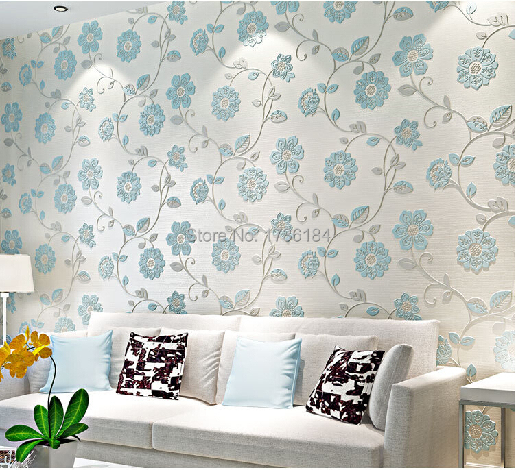 embossed textile import non woven 3d ikea wallpapers roll
