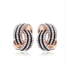 Summer Style bijoux sholl Earrings For Women Stud Earring brincos Roxi Outstanding Woman Fine Jewelry Ornamentation The New 2015(China (Mainland))