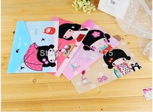 Freeshipping/ New Japanese Aikon girl style File folder/documents file bag/stationery Filing Production - CBT International Co., Ltd store