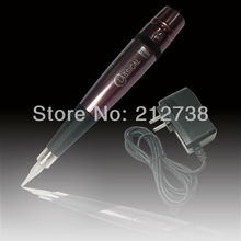 Aluminum & Steel permanent tattoo makeup Cosmetic pen machinehigh speed  - Adjust needle length machine  Free Shipping(China (Mainland))