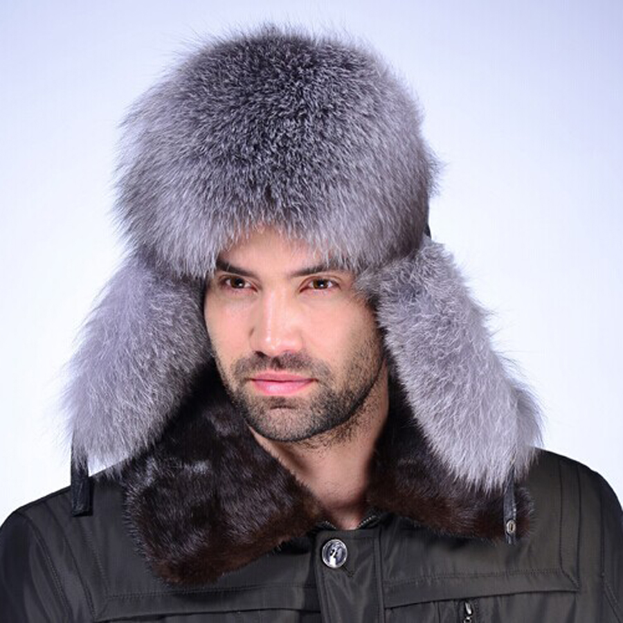 DL-10731 Hot Item Fashion Winter Raccoon&Fox Fur Hat With Ear Flaps For Women Thick and warm Winter Cap(China (Mainland))