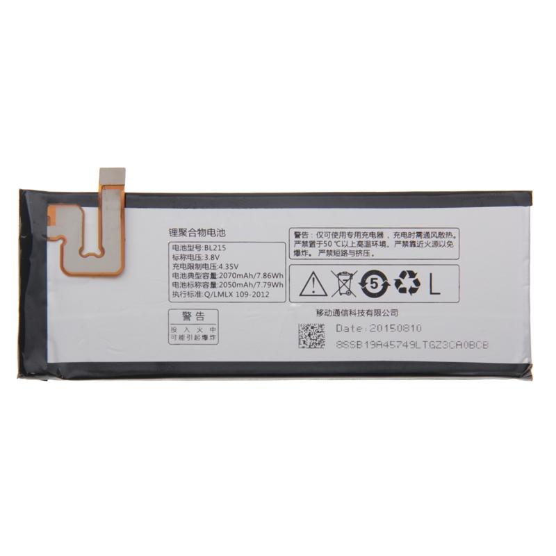100% оригинальный аккумулятор BL215 2050 мАч аккумулятор для lenovo VIBE X S960 S968T BL215 Phoe батарея мобильного телефона protect защитная пленка для lenovo vibe p1 матовая