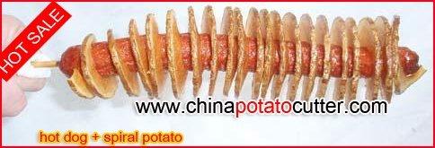 528 potato cutter japan  Jordan chip makers Spiral String Potato maker (with counter)