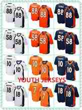 Denver John Elway Emmanuel Sanders Peyton Manning Von Miller Demaryius Thomas John Elway For YOUTH KIDS,camouflage(China (Mainland))