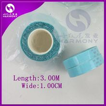 FREE Shipping!!!  ( 8 rolls 1cm x 3m ) Blue adhesive tape rolls for tape hair wigs and toupee/double-side adhesive tape(China (Mainland))
