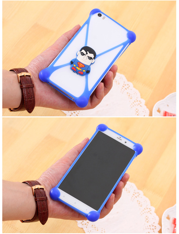 2016 3D Cartoon TPU Anti -knock Phones Cases For Xiaomi Mi4i M4i Redmi note 2 pro Cover Case Silicone Case Protector Accessory