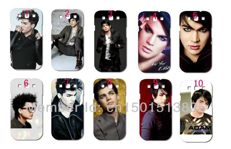 2013 New Style 1s Adam Lambert hard white case cover Samsung i9300 Galaxy SIII + - store