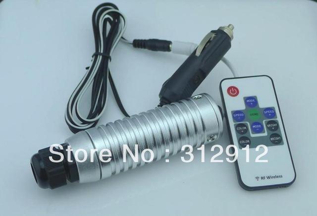 7W RGB LED fiber optic illuminator,with 10key RF remote controller;car used