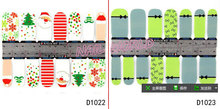 Nail Art Stickers Decals 2sheet lot Flower Cartoon Designed Stylish Nail Patch Beauty Fingernail Foil Wraps