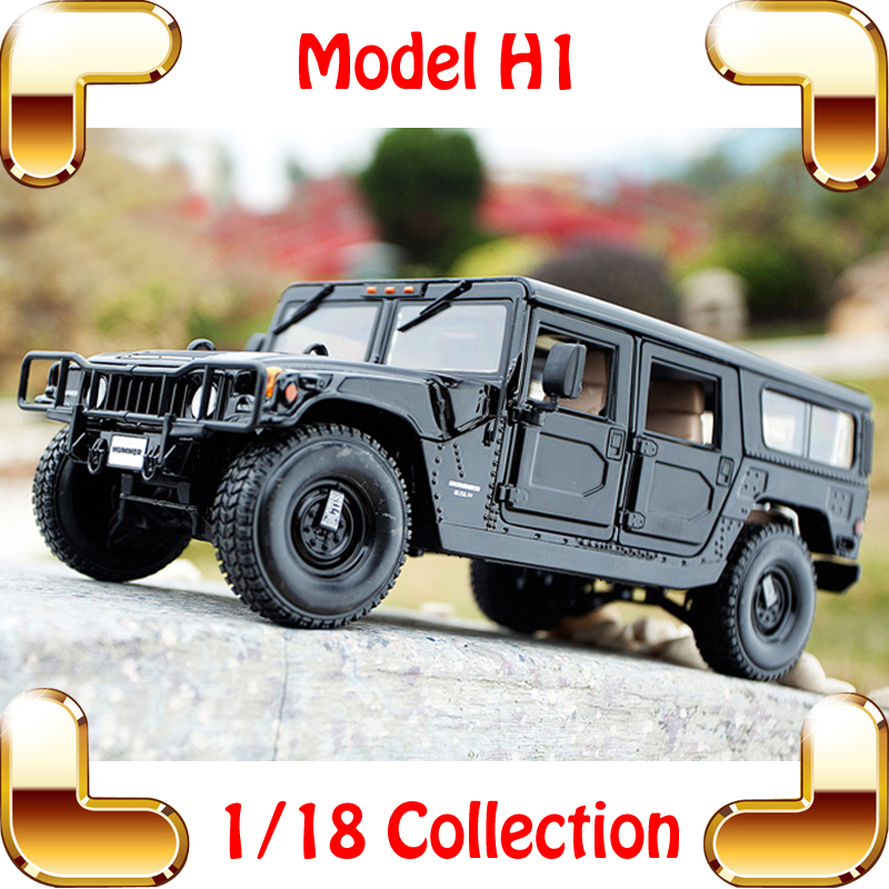 New Arrival Gift Maisto H1 1/18 Huge Truck Model Car SUV Strong Design Metal Vehicle Collection Pro Car Fans Present Jeep Toys(China (Mainland))