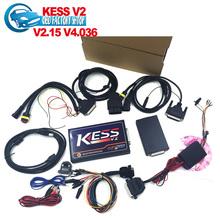 Kess V2 V2.15 2015 más reciente OBD2 gerente sintonía Kit NoToken límite Kess V2 Master FW V4.036 maestro versión envío gratis(China (Mainland))