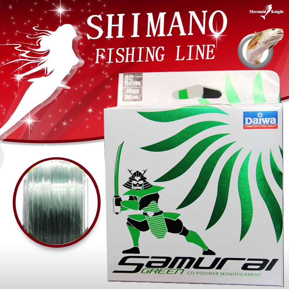 DAIWA, 100% Nylon Fishing Line - Length:300m/330yds, Diameter:0.1mm-0.5mm,size:6-40lb Tackle, pike, carp, perch. MK store(China (Mainland))