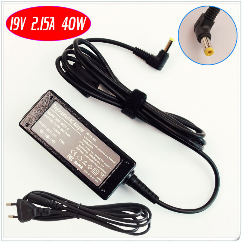 For Acer Aspire One 8.9'' 10.1''& Gateway Mini PC 11.6'' Netbook/Laptop Ac Adapter /Battery Charger 19V 2.15A(China (Mainland))