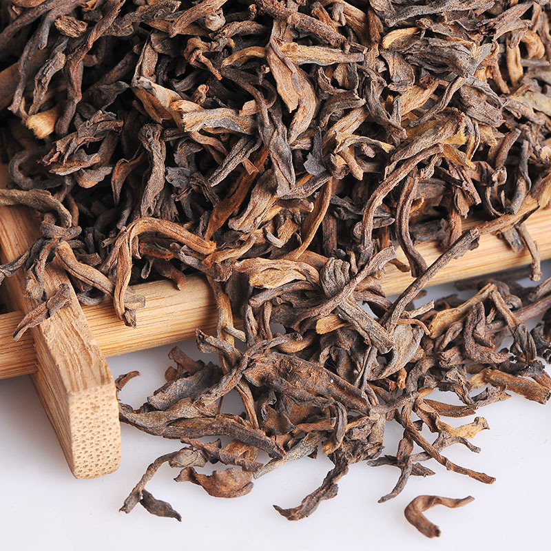 wild ancient tree pu erh tea Free Shipping pu er cooked tea lily royal tea PU