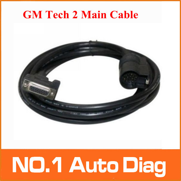 2016 A+++ quality2 Top-Rated Best Quality FOR GM Tech 2 Main Cable , FOR GM Tech2 main test cable Lowest price 100% Original(China (Mainland))