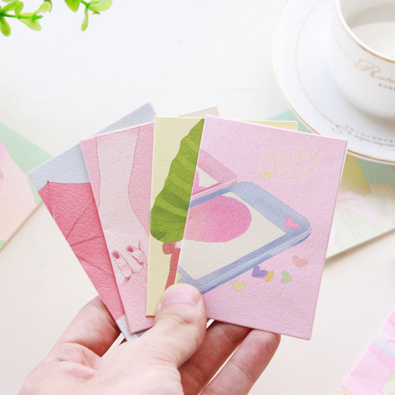 "12 pcs/set ""Say your love"" small cards with envelope holiday greeting message card Valentine's day wedding New Year Gift card(China (Mainland))"