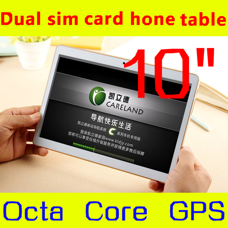 1280 * 800 IPS tablet 10 octa core mtk6592 3 G, 4 g phone call tablet 4GB/64GB dual sim Android Tablet PC, GPS 10 5.0mp 5.1(China (Mainland))