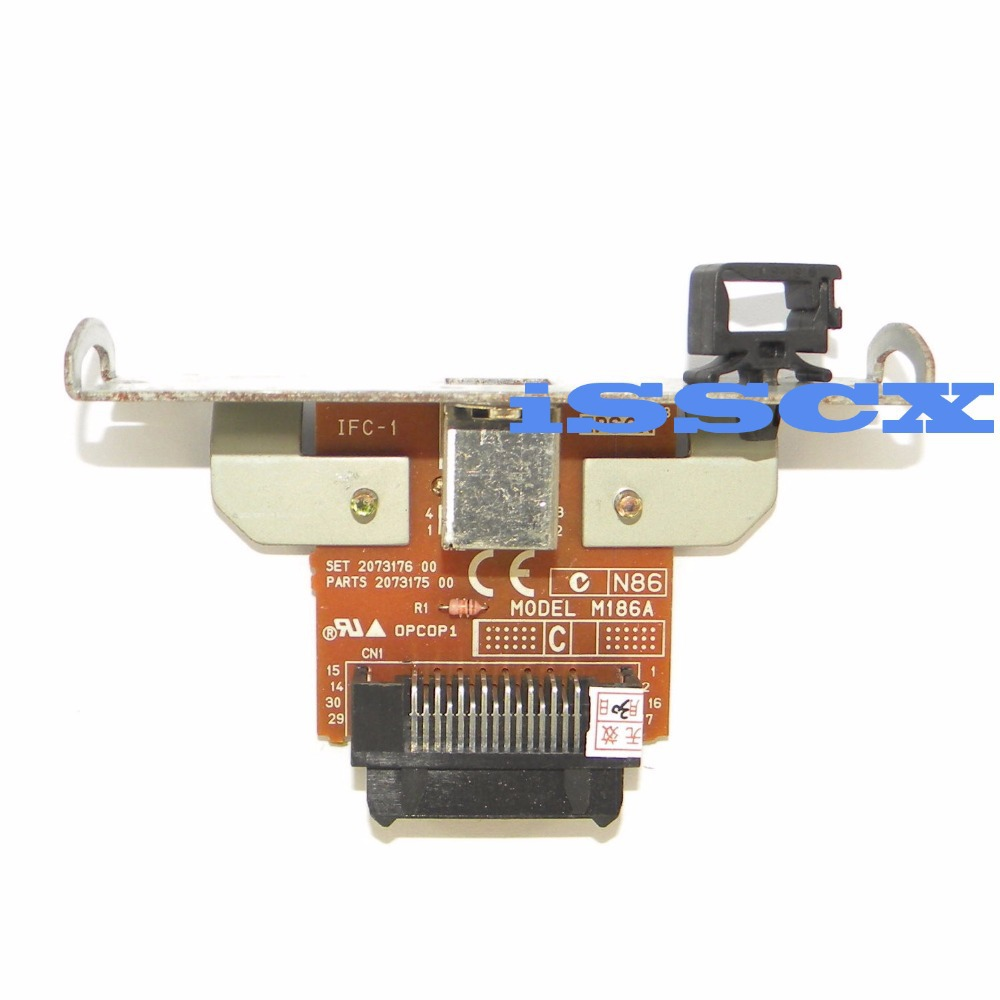 Interface Card FOR EPSON printers TM T88IV T70 T81 T71 H6200 USB UB-U05 M186A(China (Mainland))