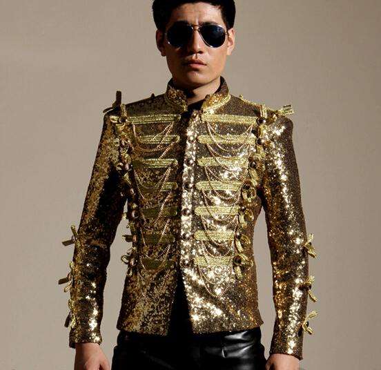 Collection Gold Blazer Men Pictures - Reikian