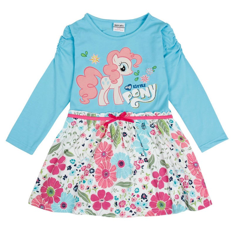 Baby girls dress 2014 new baby girls wear summer forzon princesse clothing &amp;printed flower cartoon lace dress for girl<br><br>Aliexpress