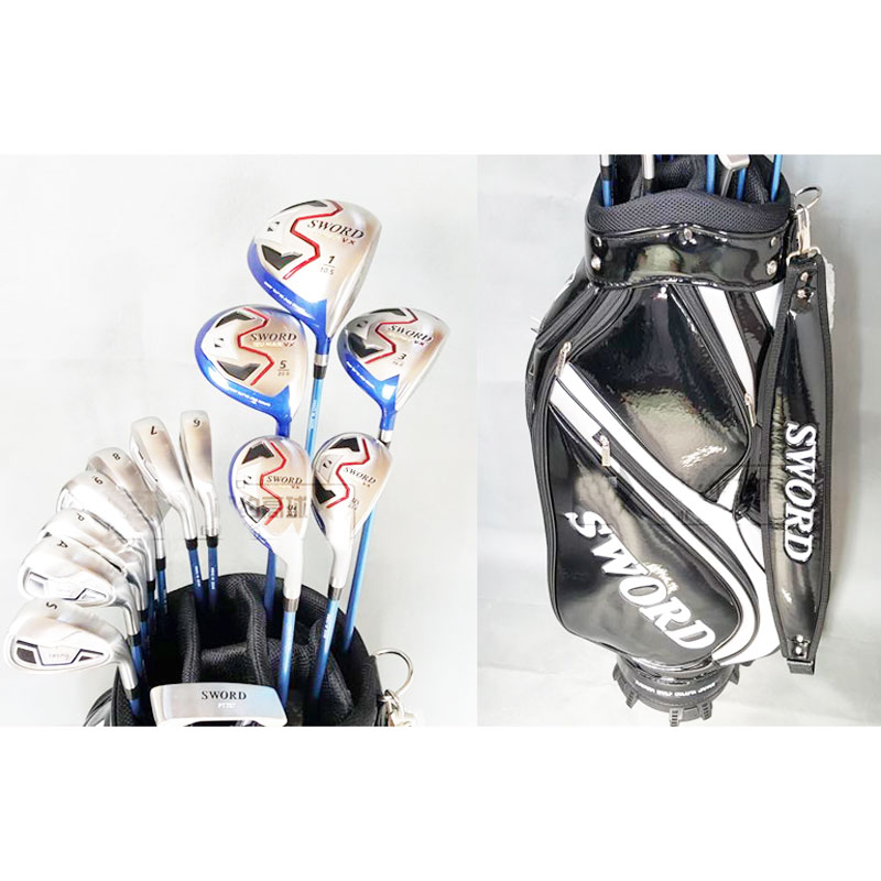 Sword IZU MAX VX Complete Sets of Clubs 3 Wood+7irons+putter+hybrid+Bag with Graphite shaft&amp;headcover Golf clubs Free shipping<br><br>Aliexpress