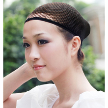 1 Pcs Stretchable Mesh Wig Cap Elastic Hair Snood Nets for Cosplay  Fashion  Free Shipping L04176