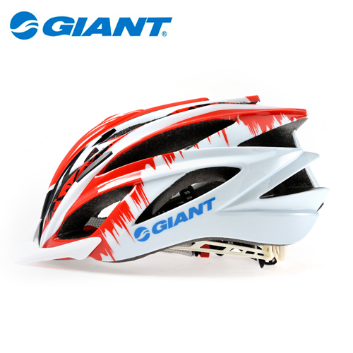 GIANT 2014 How! New Outdoor Sports Helmet Road Bike MTB Cycling Helmet Bicycle Helmet Size L/XL 58cm-62cm Red White G904(China (Mainland))