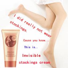80g LAIKOU Invisible stockings Cream Foundation skin lightening cream for body Legs BB Cream leg concealer whitening(China (Mainland))