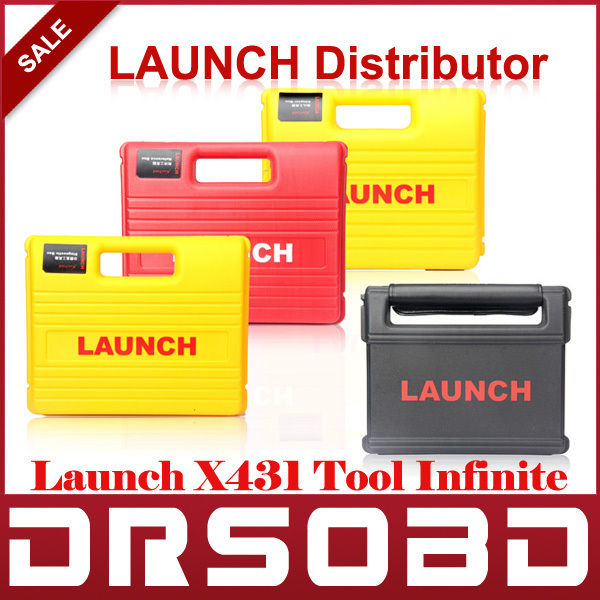 Original Launch X431 Tool Infinite Car Diagnostic Scan Tool Free Online Update Launch x-431 Auto Scanner With Four Boxes