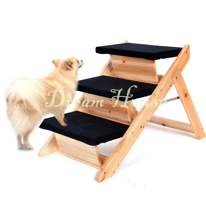 Us Stock 2-In-1 Pet Cool Folding Stair Cats Pet Steps Ladder Dog Stair 12(China (Mainland))