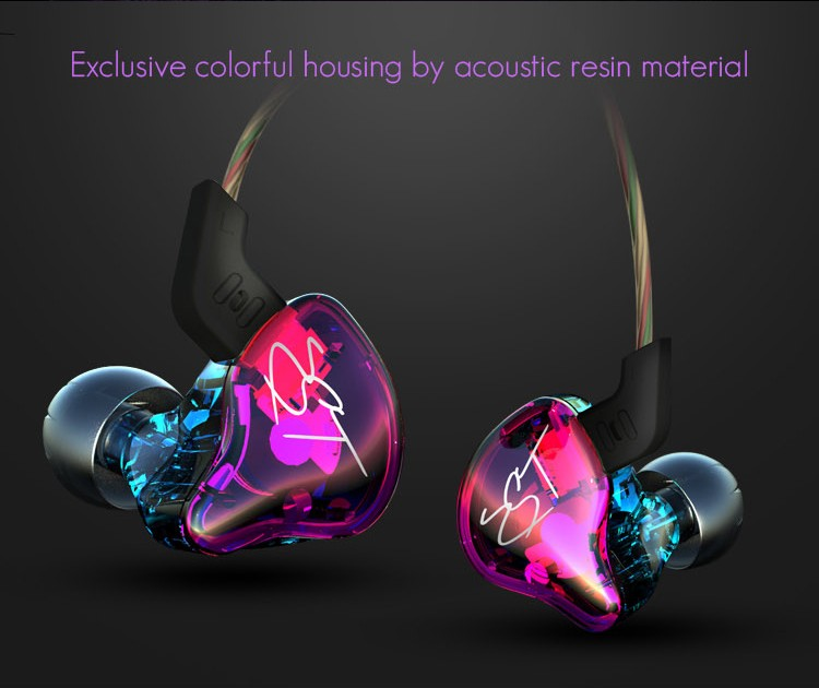 KZ ZST Armature Dual Driver Earphone Detachable Cable In Ear Audio Monitors Noise Isolating HiFi Music Sports Earbuds