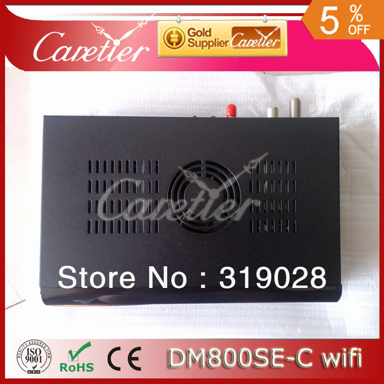 2013 free shipping cabling DM 800HD SE Cable tuner DVB-C tuner +300Mbps Wifi build in (4pcs 800se-C WIFI)(China (Mainland))