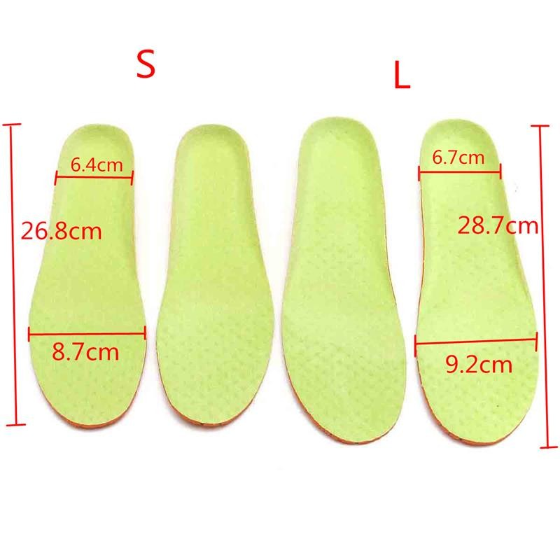 Comfortable Foot Care Unisex Orthotic Insoles Arch Support Shoe Pad Soft Gel Insole Non-slip Insert Shock-Absorbant Cushion  215