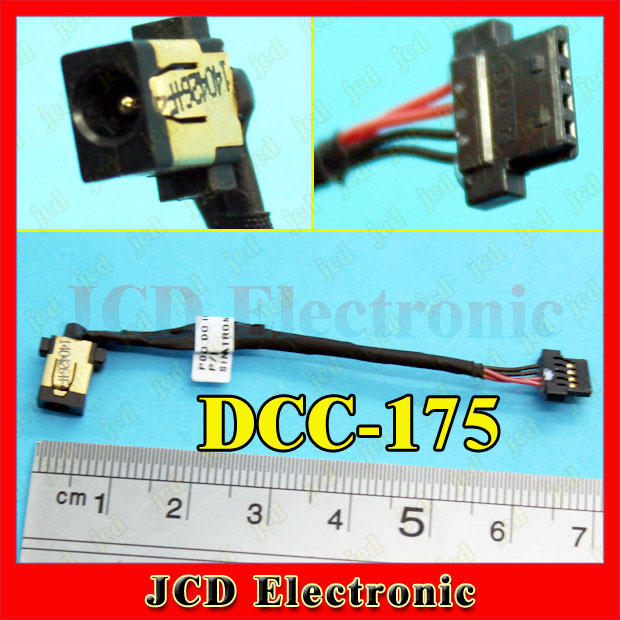 DCC-175 NEW For FOR ACER Ultrabook ASPIRE DC Power Jack Cable Notebook 7cm 4pin(China (Mainland))