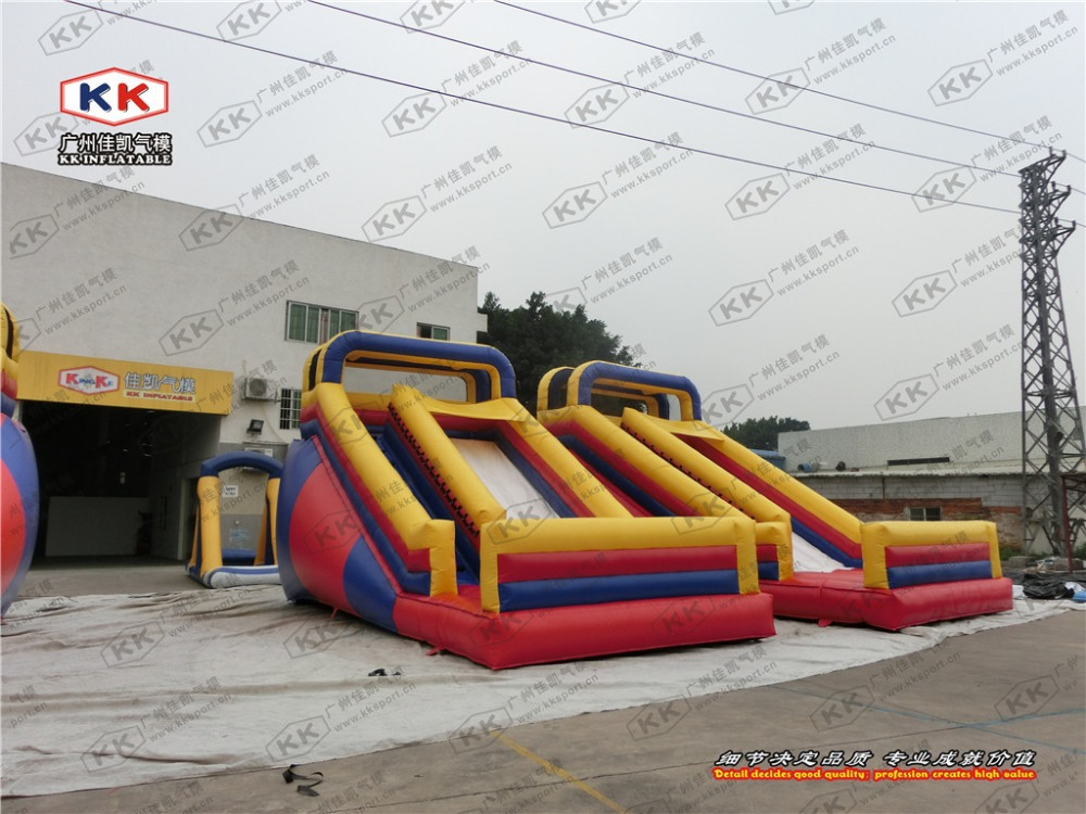 Paradise Inflatable Slide , special for church event , school event use(China (Mainland))