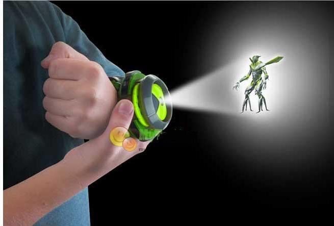Hot Selling ben 10 omnitrix watch Style Kids Projector Watch Japan Genuine Ben 10 Watch Toy Ben10 Projector Medium Support Drop(China (Mainland))