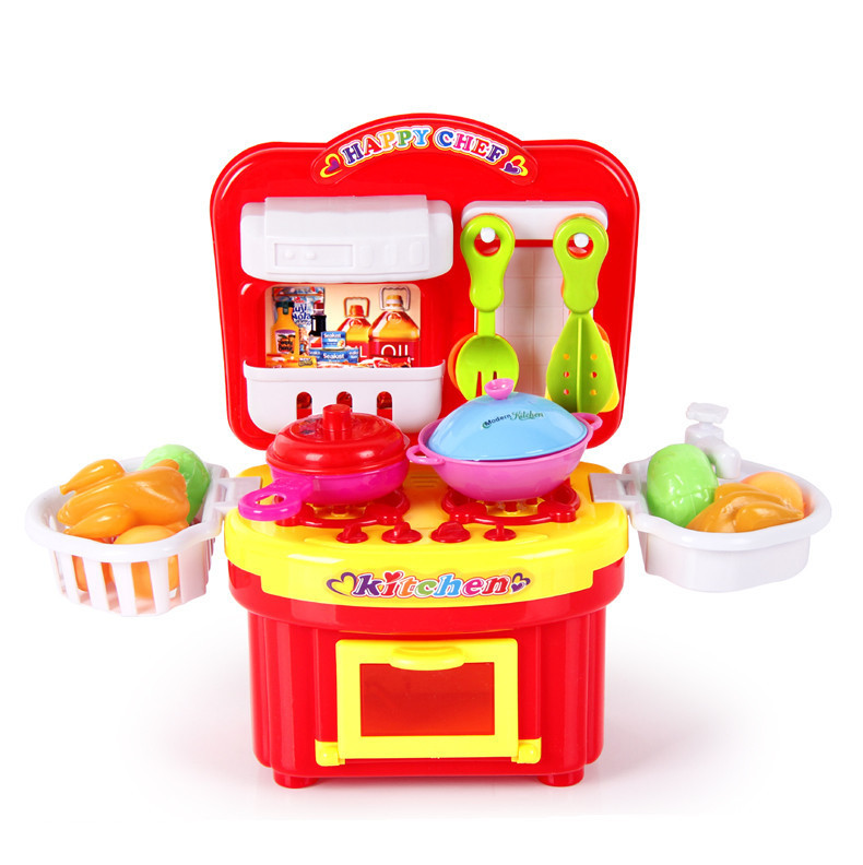Child kitchen toys set classic toys cooking tools kids for Kitchen set for 8 year old