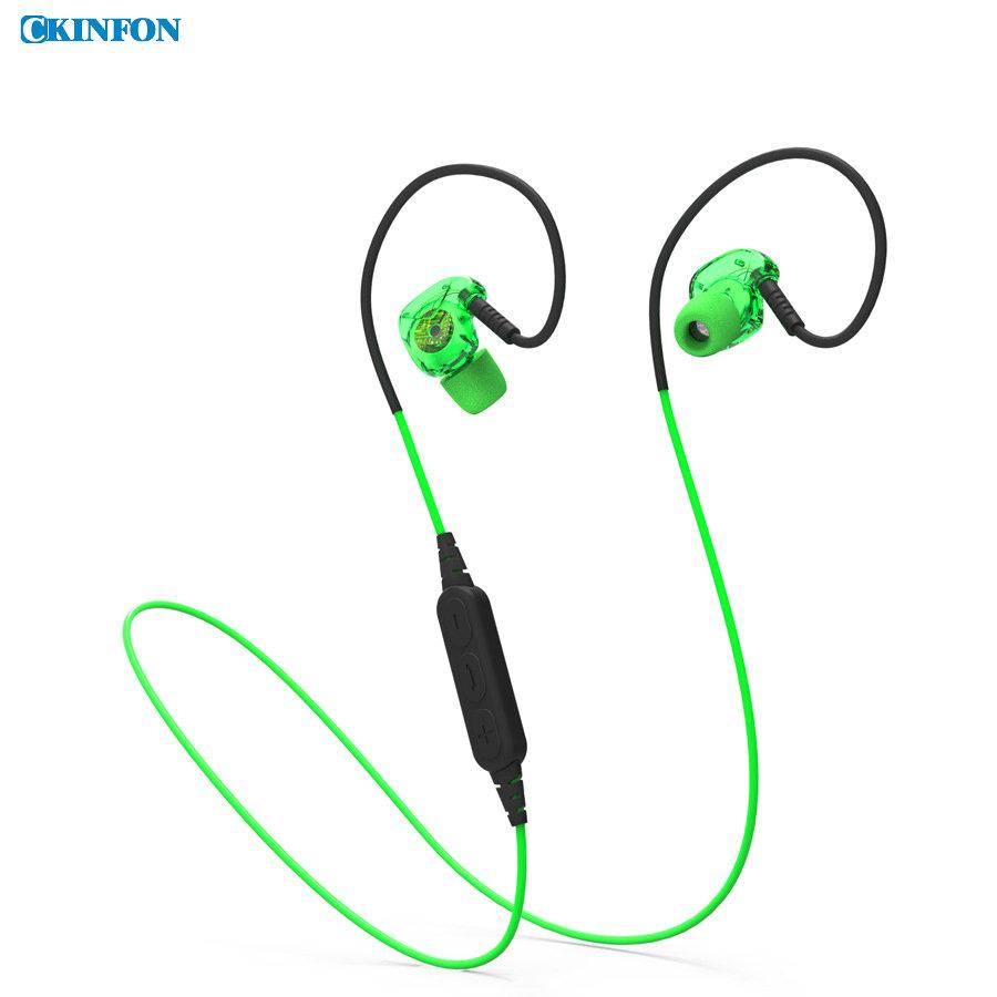 (Wholesale) 80PCS Bx240 Sport Bluetooth Headset 4.1 Bass Sweatband Ear Phone Wire Wireless Headset(China (Mainland))