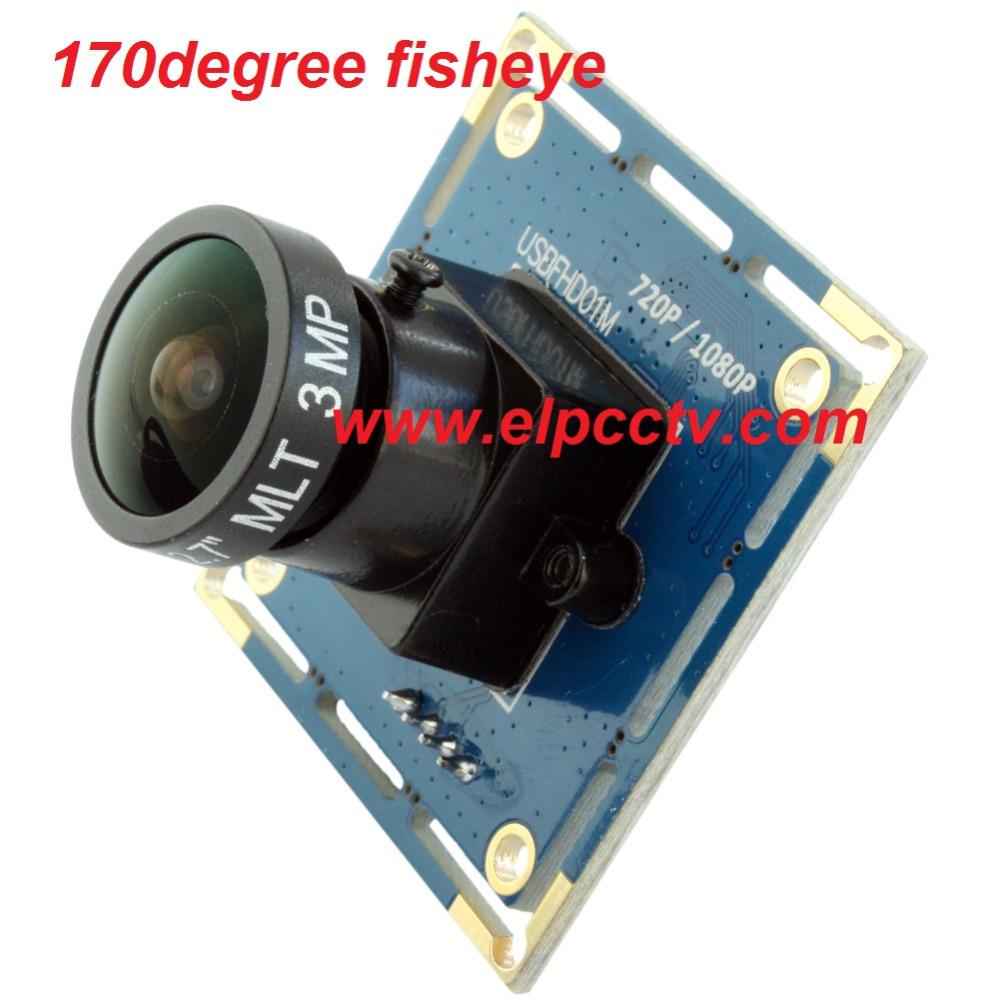 Linux Full HD 1920*1080P 170degree fisheye lens cctv usb camera module oem for atm machines ELP-USBFHD01M-L170(China (Mainland))