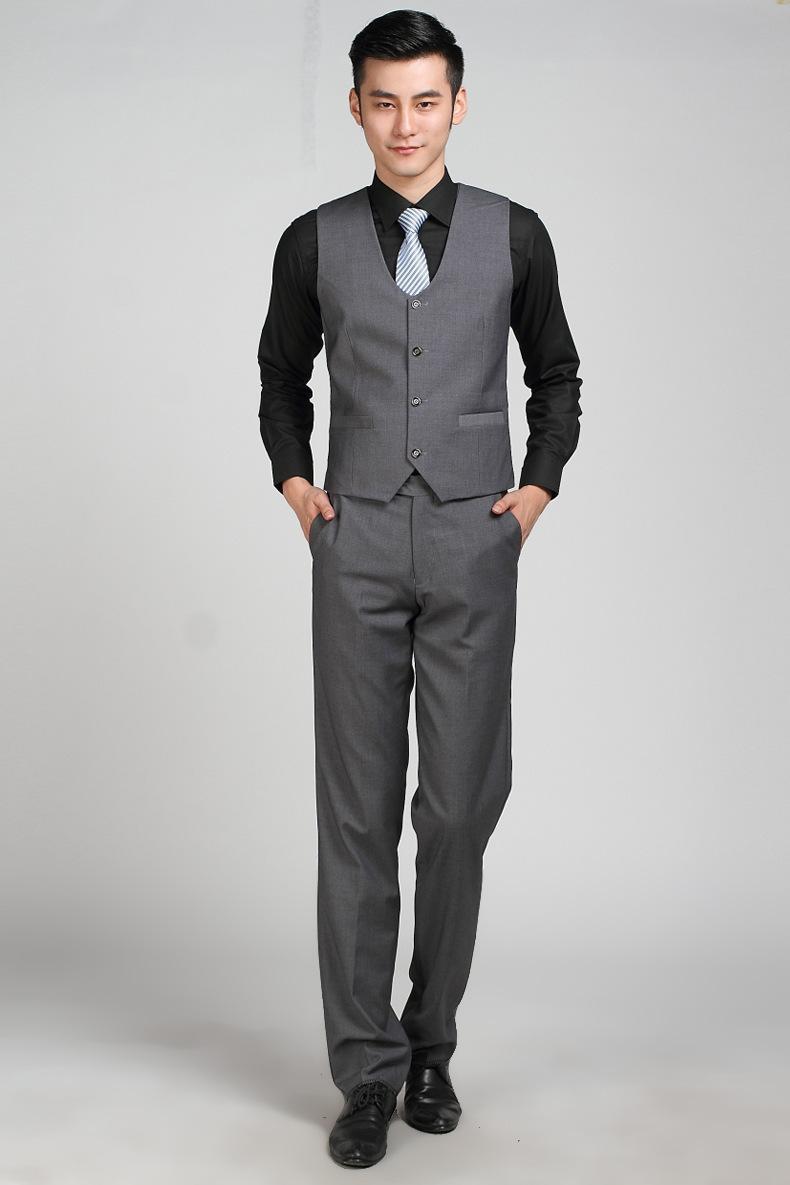 Dark Grey Slim Fit Suit