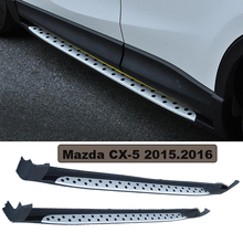 For Mazda CX-5 2015.2016.Car Running Boards Auto Side Step Bar Pedals High Quality Brand New Circular Particle Design Nerf Bars
