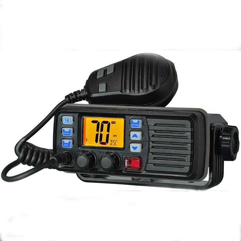 Hot Sell 25W VHF Marine Radio Station Waterproof IP-X7 with DSC and Aqua Quake Draining Function(China (Mainland))