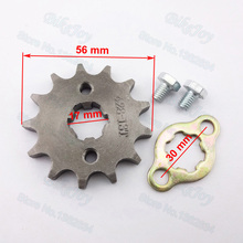Buy 428 13 T Tooth 17mm Front Engine Sprocket 50cc 70cc 90cc 110cc 125cc Taotao Dirt Pit Bike ATV Quad Buggy Scooter Motorcycle for $5.56 in AliExpress store
